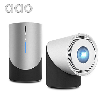 AAO DLP Projector S211 Portable Mini Projector 280Ansi 1080P Android IOS Phone WiFi Beamer Miracast Airplay Battery 3D Proyector