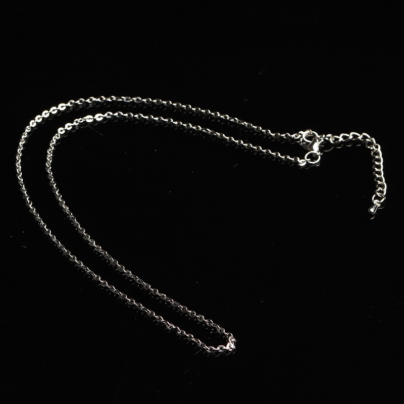 1PC Necklace Without Pendant Clavicle Chain Ring Necklace Bare Chain Couple Decoration Accessories DIY Gift Jewelry Men AndWomen