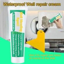 Środek do naprawy ścian domowy krem do naprawy ścian ściany pęknięcia paznokci naprawy agenta ściany Peeling Graffiti Gap naprawy pasty ze skrobakiem