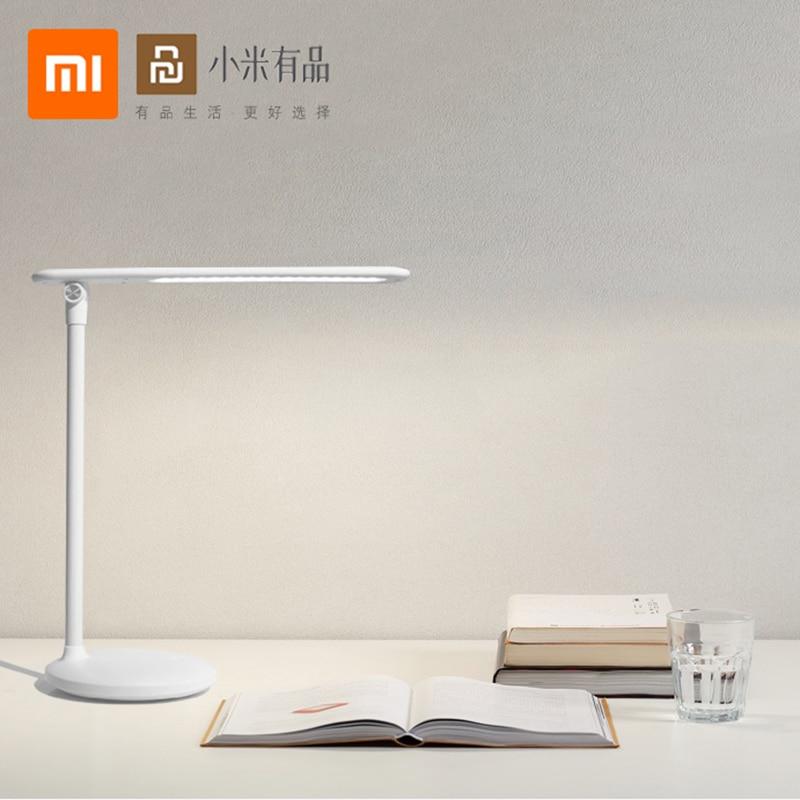 Xiaomi Youpin Eye Protection โคมไฟตั้งโต๊ะ LED แบบพกพาโคมไฟตั้งโต๊ะตกแต่งห้องอ่านหนังสือปรับ