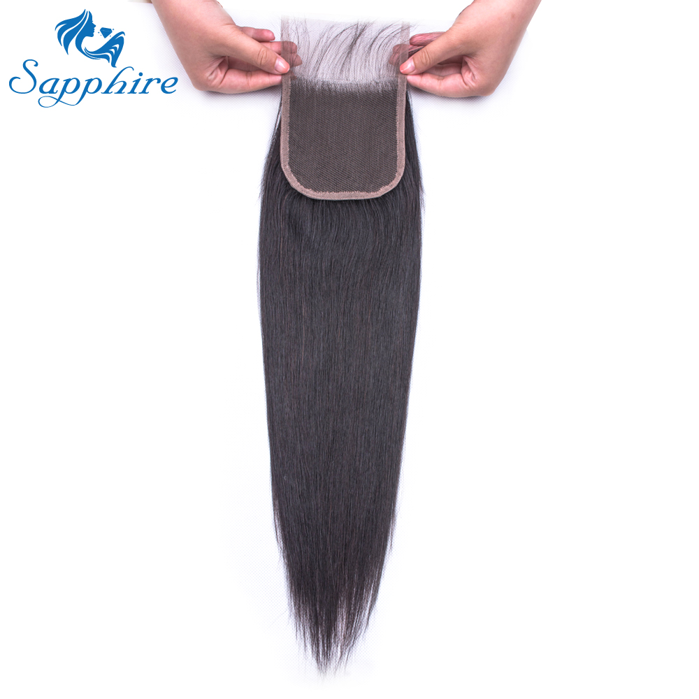 H068fdacb5e4842d9b13df17fb202d6306 Sapphire Straight Bundles With Closure Brazilian Hair Weave Bundles With Closure Human Hair Bundles With Closure Hair Extension