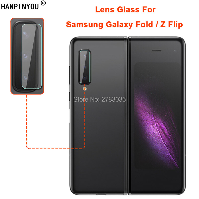Galaxy Z Fold2 Screen Protector Camera Lens Protector Easy to Install Anti-Shock GO-Flex Flexible TPU Film for Galaxy Z Fold 2 N 1+1 GOBUKEE