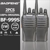 מכשיר הקשר 2pcs Baofeng BF-999 שניות מכשיר הקשר 5W 1500mAh UHF 400-470MHz Baofeng 888s amateu הרדיו משדר HF רדיו חובבים Ricetrasmittenti (2)