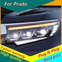 For Toyota Land Cruiser Prado 2018 Headlights Prado LED Headlight DRL LED Automobile Accessories