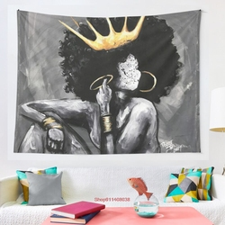 Naturally Queen VI tapestry Cover Beach Towel Picnic Yoga Mat Home Decoration Wall Hanging