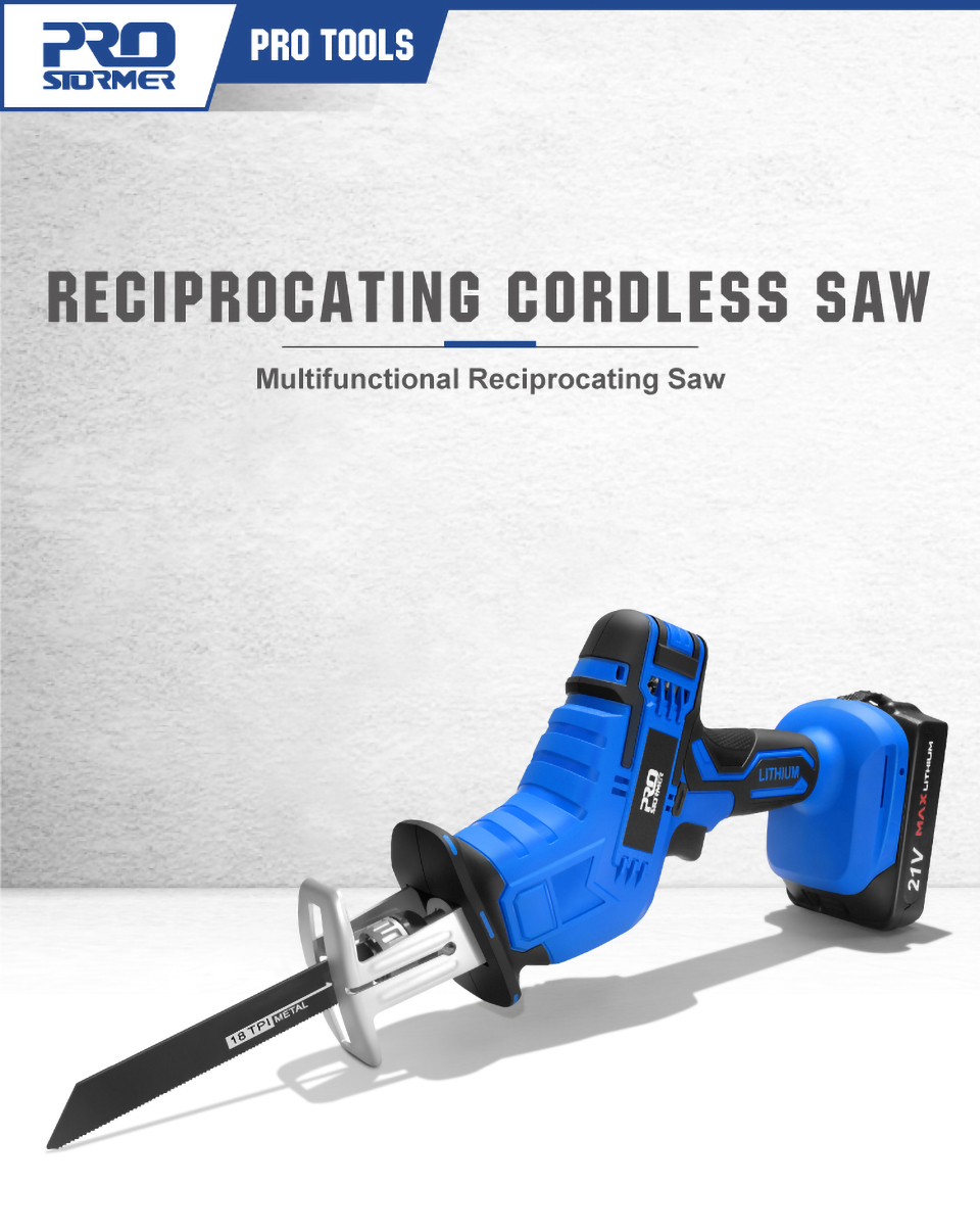 PROSTORMER Reciprocating Cordless Saw