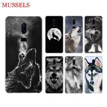 The Wolf Fierce Phone Back Case for OnePlus 7 Pro 6 6T 5 5T 3 3T 7Pro Art Gift Patterned Customized Cover Coque Capa