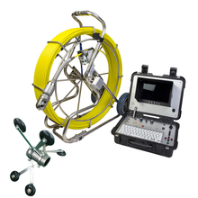512hz-Transmitter Inspection-Camera Borehole Video Waterproof Sewer-Pipe Push-Cable Fibreglass