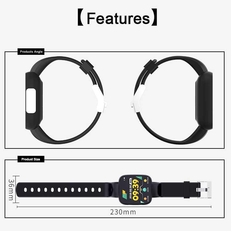 T5 Смарт часы полный экран ЭКГ PPG водонепроницаемые спортивные часы фитнес-трекер монитор сердечного ритма кровяное давление Удаленная камера Sma