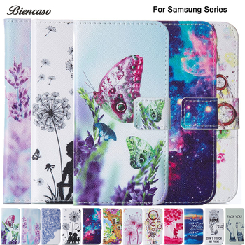 Case For Samsung GALAXY J3 J1 2016 J120 A5 A7 2016 A510 A710 S3 S4 S5 S6 S7 Edge S8 Plus J1 Mini Wallet Flip PU Leather Cover image