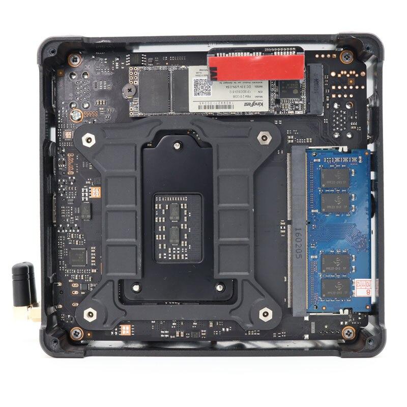 Topton 8th Gen Intel Core i7 8750H 2*DDR4 Slot Max 64GB Windows 10 Pro Linux Mini PC Type-C HDMI Mini-DP 4*USB3.0 AC Wifi BT 5.0
