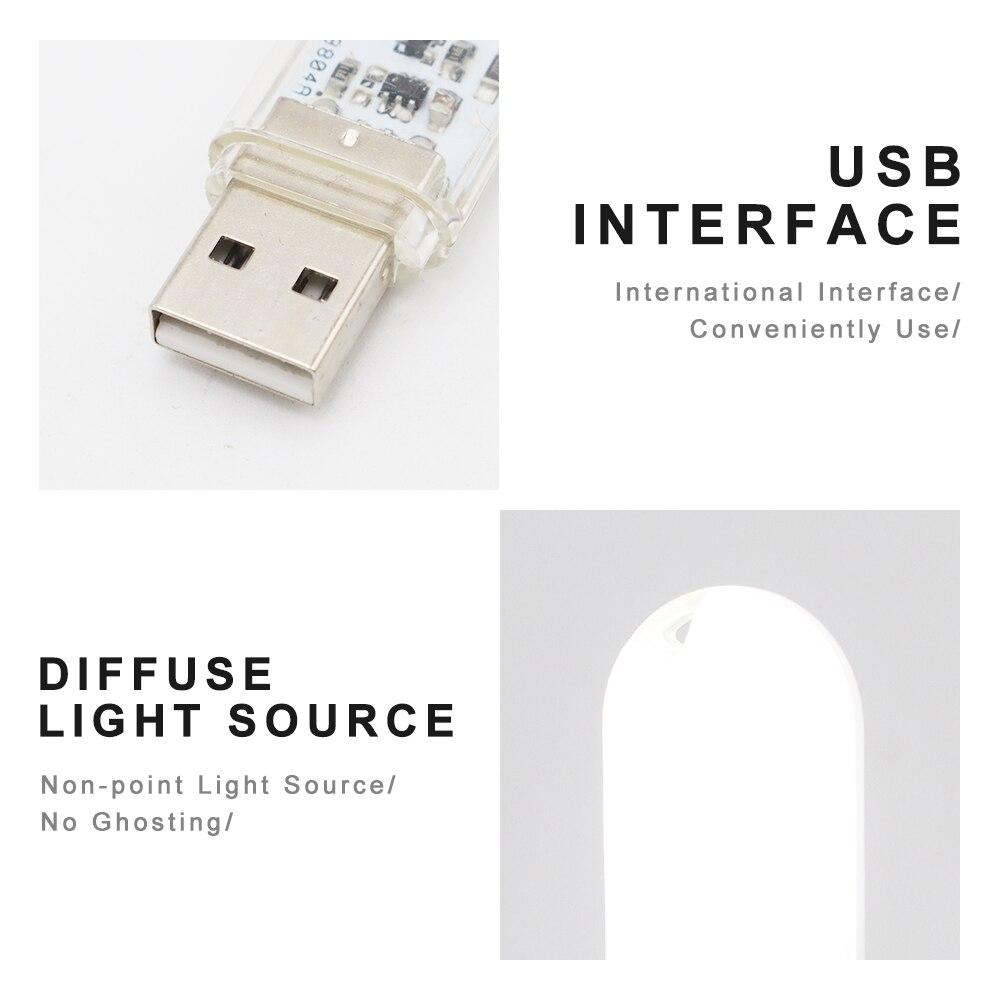 Touch Switch DC5V USB LED Mini Book Light 1.5W LED Desk Reading Lamp Red Blue Green White Portable Flexible USB LED Night Lights 3