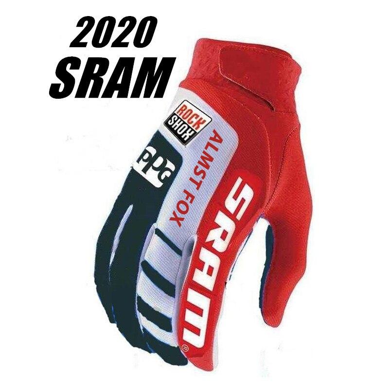 2020 SRAM велосипедные перчатки BMX Racing Велоспорт перчатки ATV BMX MTB внедорожных мотоциклов перчатки горный велосипед перчатки снаряжение для вело...