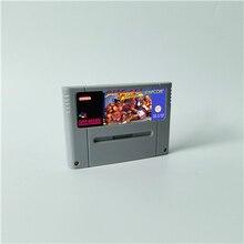 Street Game Fighter II Turbo tarjeta de juego de acción versión europea en inglés