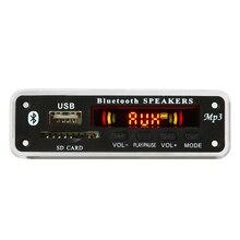 Bluetooth 5.0  SD USB FM Aux Radio MP3 Player Integrated Car USB Bluetooth Hands-free MP3 Decoder Board Module Audio refitting аудио для авто bluetooth car mp3 2015 bluetooth mp3 mp3 fm usb sd mmc