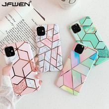 Plating Marble Case For iphone 12 SE 202