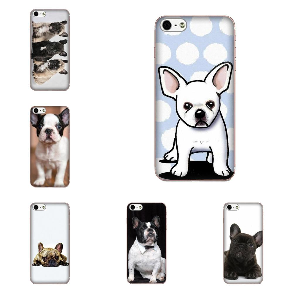 TPU Original For Samsung Galaxy Note 5 8 9 S3 S4 S5 S6 S7 S8 S9 S10 5G mini Edge Plus Lite French Bulldog Puppy Soft image