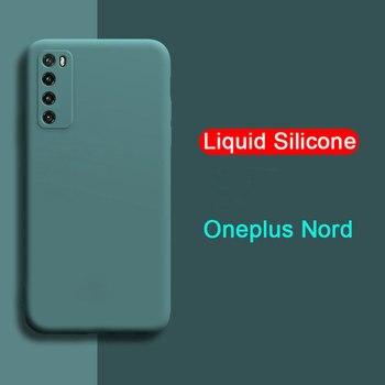 Перейти на Алиэкспресс и купить Чехол для OnePlus Nord, мягкий силиконовый защитный чехол для объектива камеры One Plus Nord 5G 1 + чехол для задней панели Nord