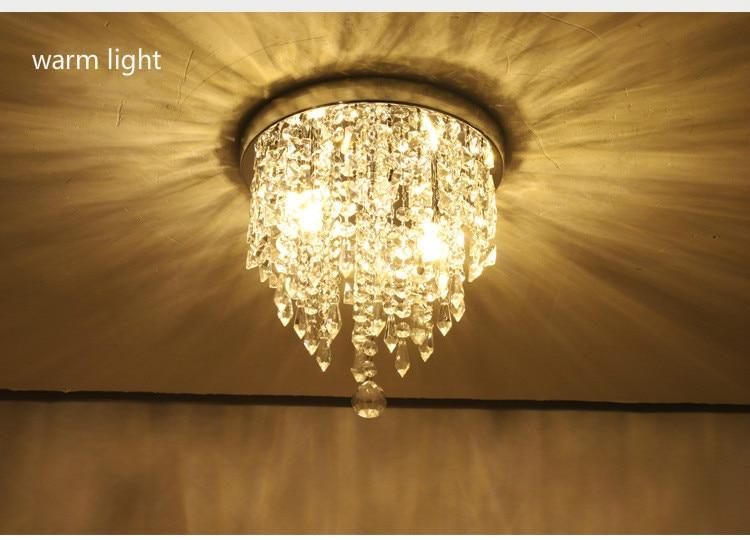 luminaria de teto cristal k9 lampada 04