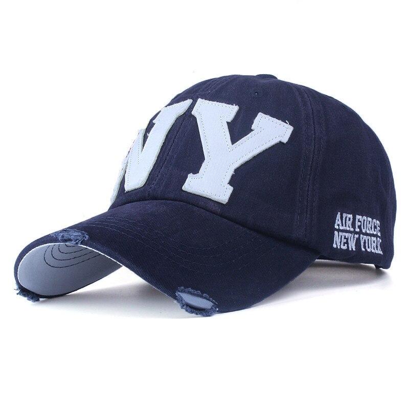 Унисекс Модная хлопковая бейсболка snapback шляпа для мужчин и женщин Солнцезащитная шляпа bone gorras ny вышивка Весенняя Кепка оптовая продажа