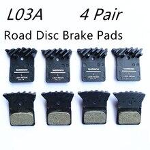 4ペアL03A resina pastiglieデイをfreniディスコ詐欺alettaあたりラpianaleピアットディmontaggio br R9170/8070/7070、RS805、br RS505ストラーダ