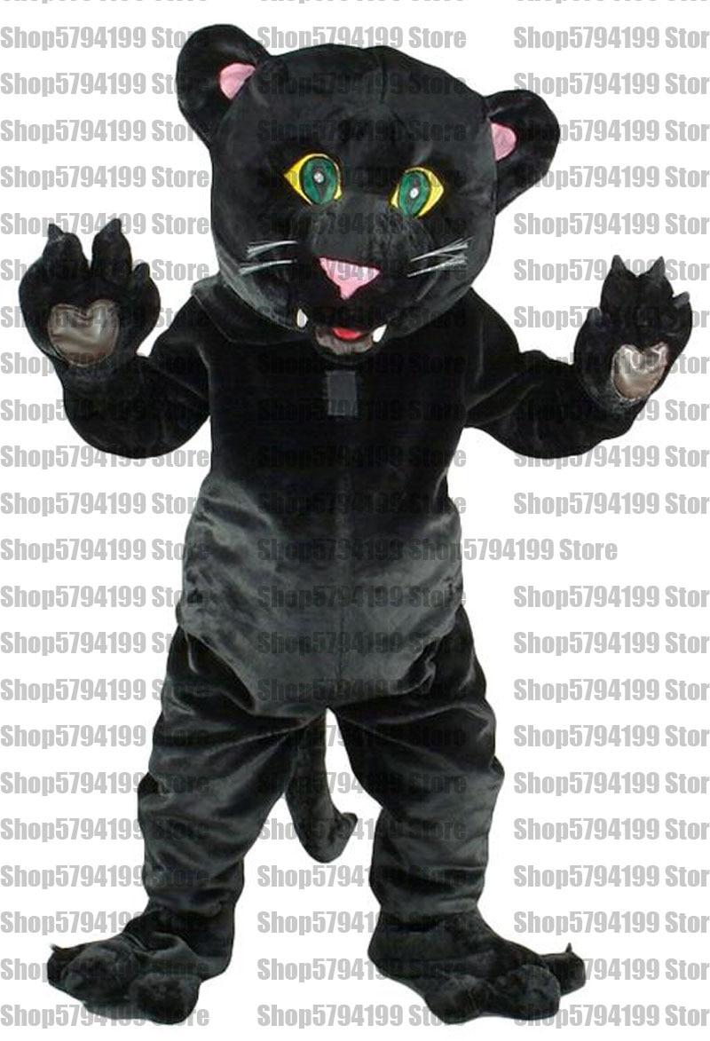 Halloween Black/&White Cat Mascot Costume Cosplay Birthday Adults Fancy Dress