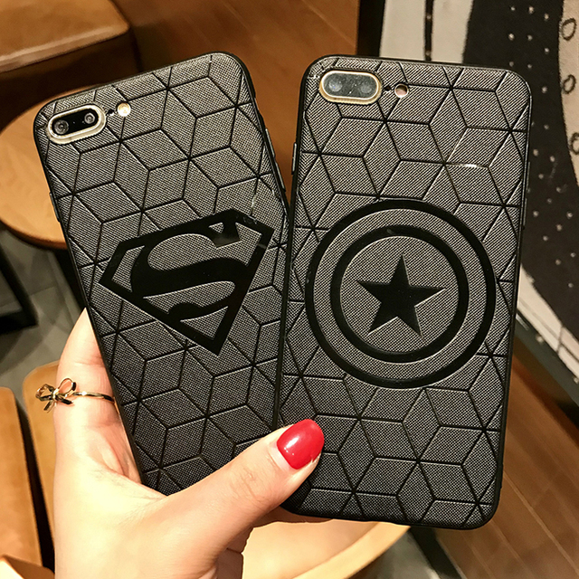 Marvel Avengers Silicone Case for Coque iPhone 6s 7 8 Plus 11 Pro Max Xs XR 7Plus 8Plus 11Pro soft Cover Ironman Spiderman Funda