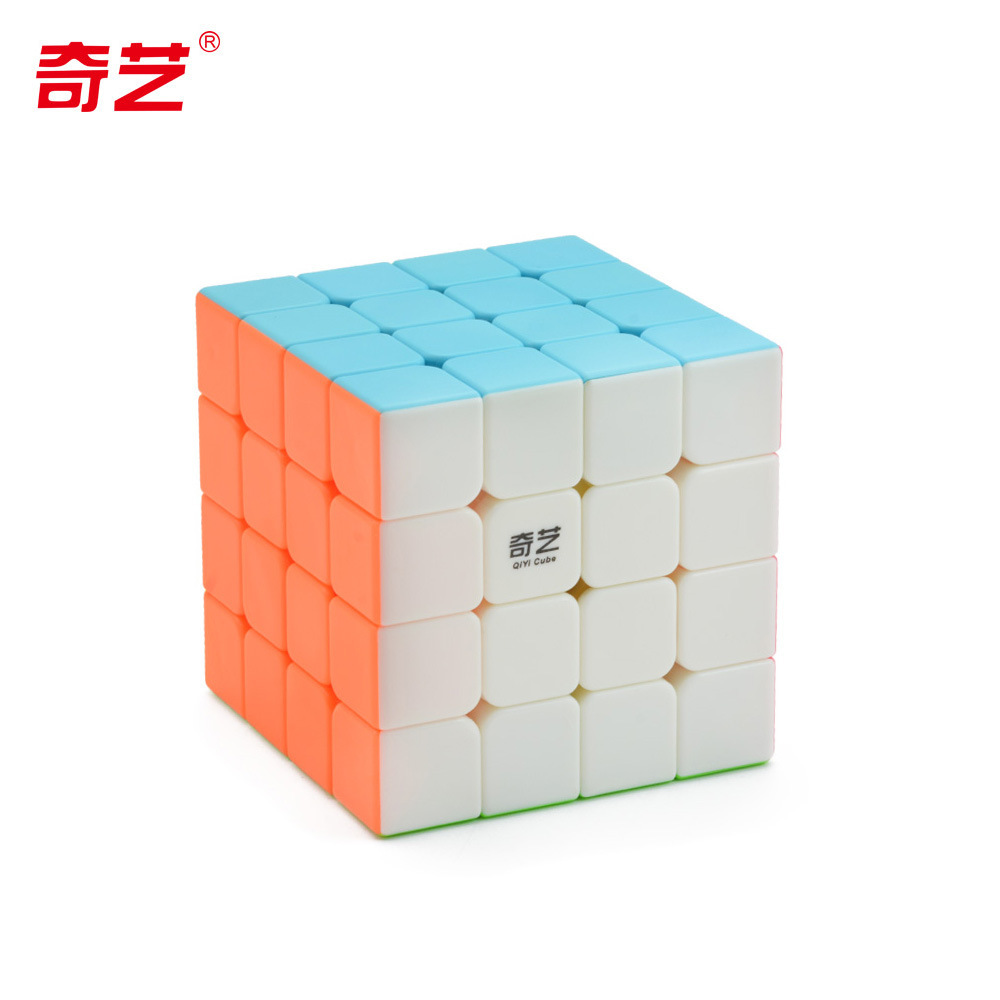 <font><b>QIYI</b></font> <font><b>QiYuan</b></font> <font><b>S</b></font> <font><b>4x4</b></font> Magic-Cube Puzzle Speed Cubes 4x4x4 Professional Speed stickeless Cubo Magico Educational Toy For Children image