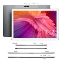 2021 New Hot X30L 10 inch Tablet PC MT6797 Deca Core 6GB RAM 128GB ROM 4G LTE 13.0/5.0MP Android 8.0 1920X1200 2.5K IPS Tablets 2
