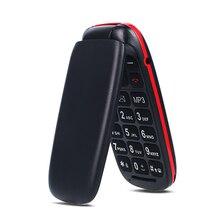 Unlocked Mobile Phone Senior Kids Mini Flip Phones