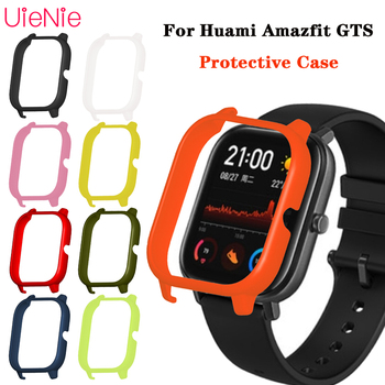 For Huami Amazfit GTS PC Protective Cover Case For Huami Amazfit GTS TPU Protective Shell Frame Bumper Watch Protector Case soft slicone protective case cover protector frame shell colorful slim for huami amazfit verge watch accessories