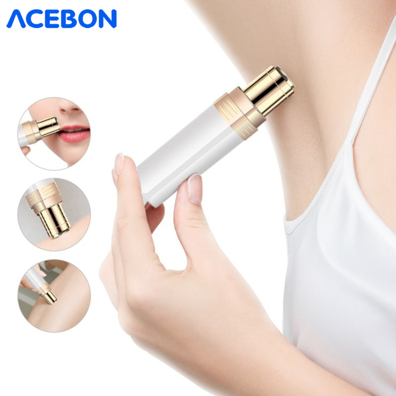 New Brows Eyebrow Trimmer Electric Professional Lipstick Epilator Eyebrow Hair Removal Painless Shaver Portable Face Care Hair