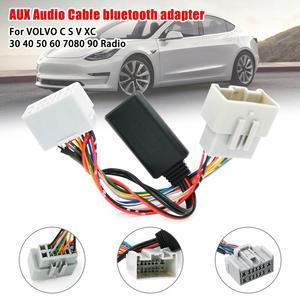 Высококачественный автомобильный аудиоприемник AUX в Bluetooth адаптер для Volvo C30 C70 S40 S60 S70 S80 V40 V50 V70 XC70 XC90 адаптер приемника
