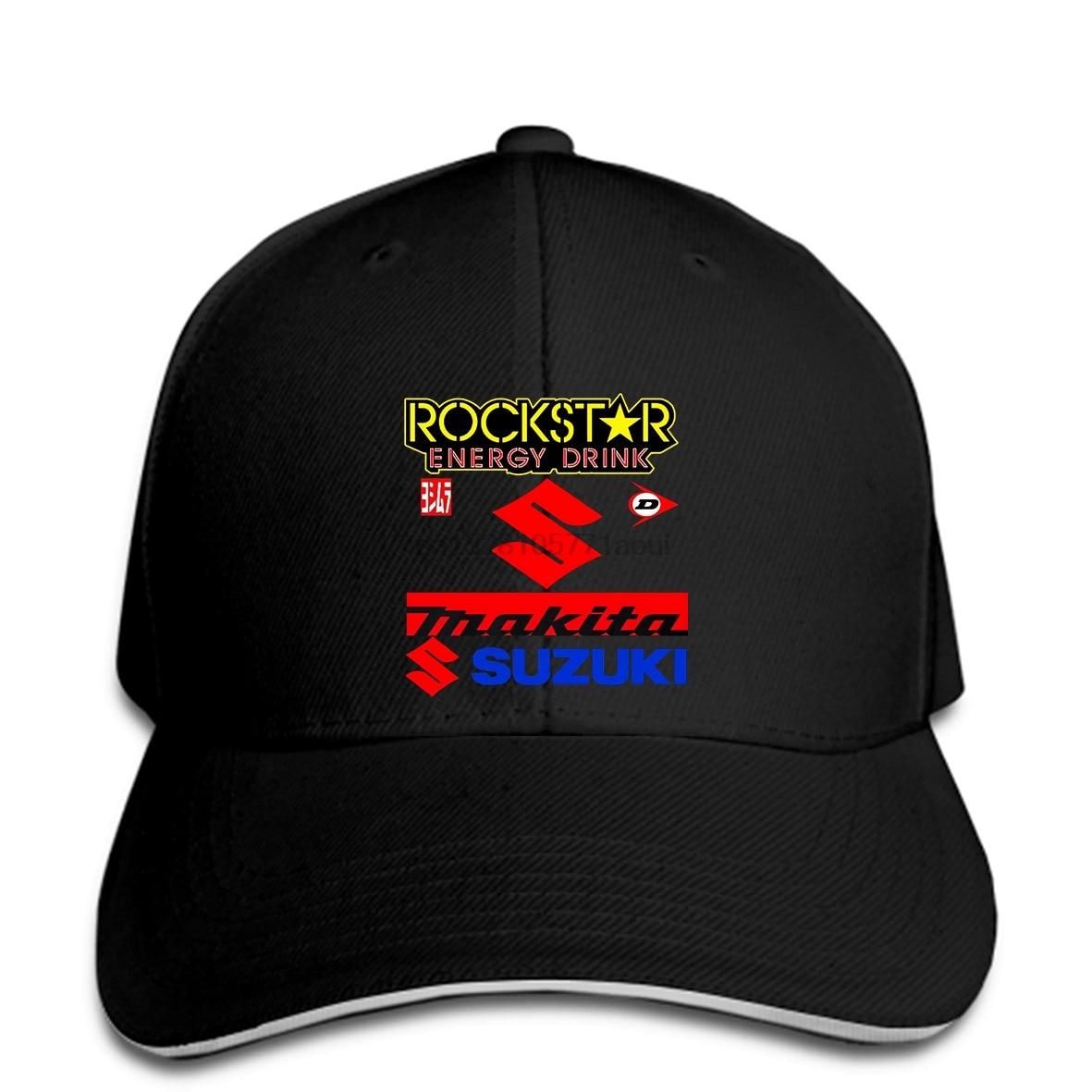 Baseball cap NEW SUZUKI TEAM RACING Baseball caps SUZUKI GSXR GSXRR Baseball caps