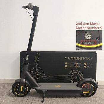 "2020 nuevo patinete eléctrico inteligente plegable Ninebot Max G30 patinete eléctrico inteligente 10 ""Rueda 30 km/h 65km rango de freno doble Hoverboard"