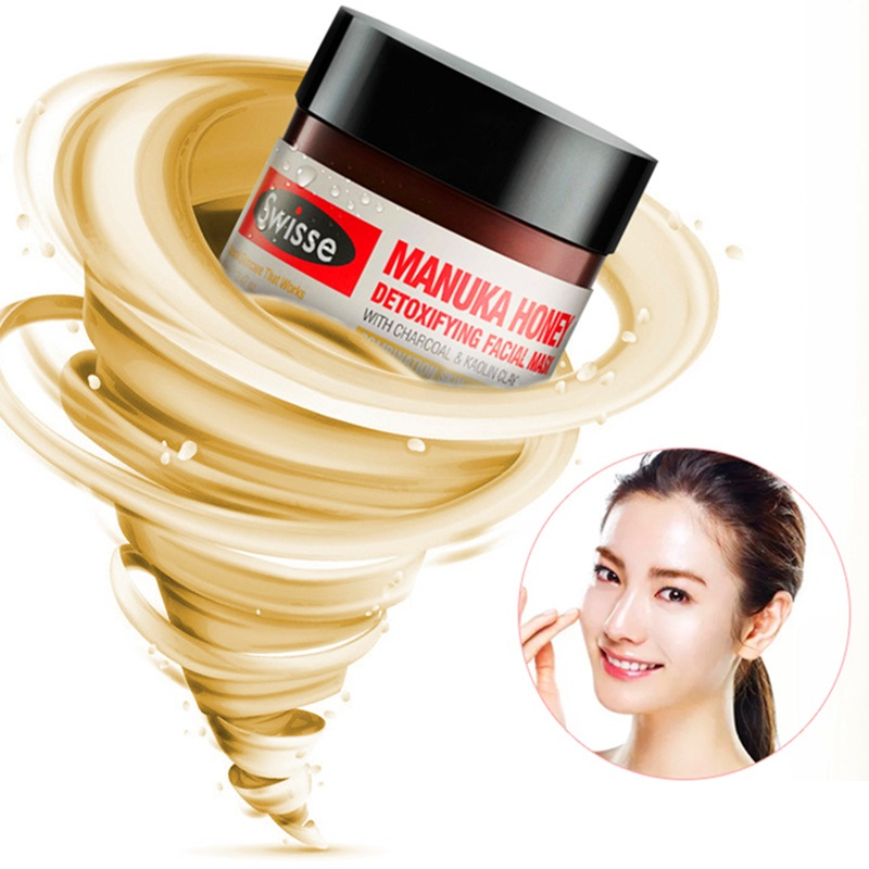 Australia Swisse Manuka Honey Detoxifying Face Mask 70g Purify Cleaning Blackheads for Blemish Prone Skin Tightening Firming