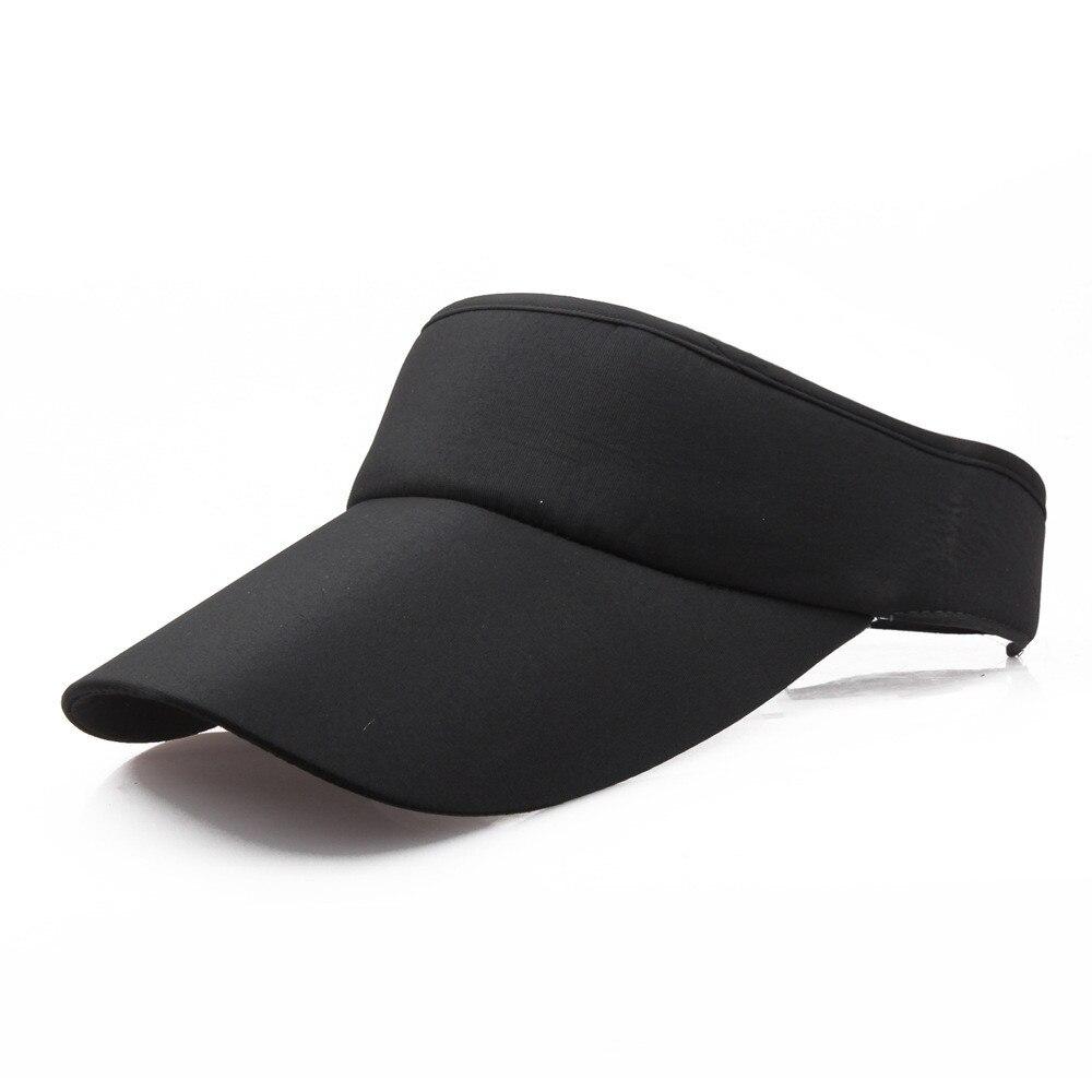 Sombrero de sol clásico para hombre y mujer, gorra deportiva con visera para deportes, plegable, Anti-uv, unisex