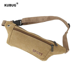 KUBUG Outdoor Sport Bag Crossbody Riding Mountaineering Multi-functional Tactical Running Bag Fashion Casual Canvas Waist Bag