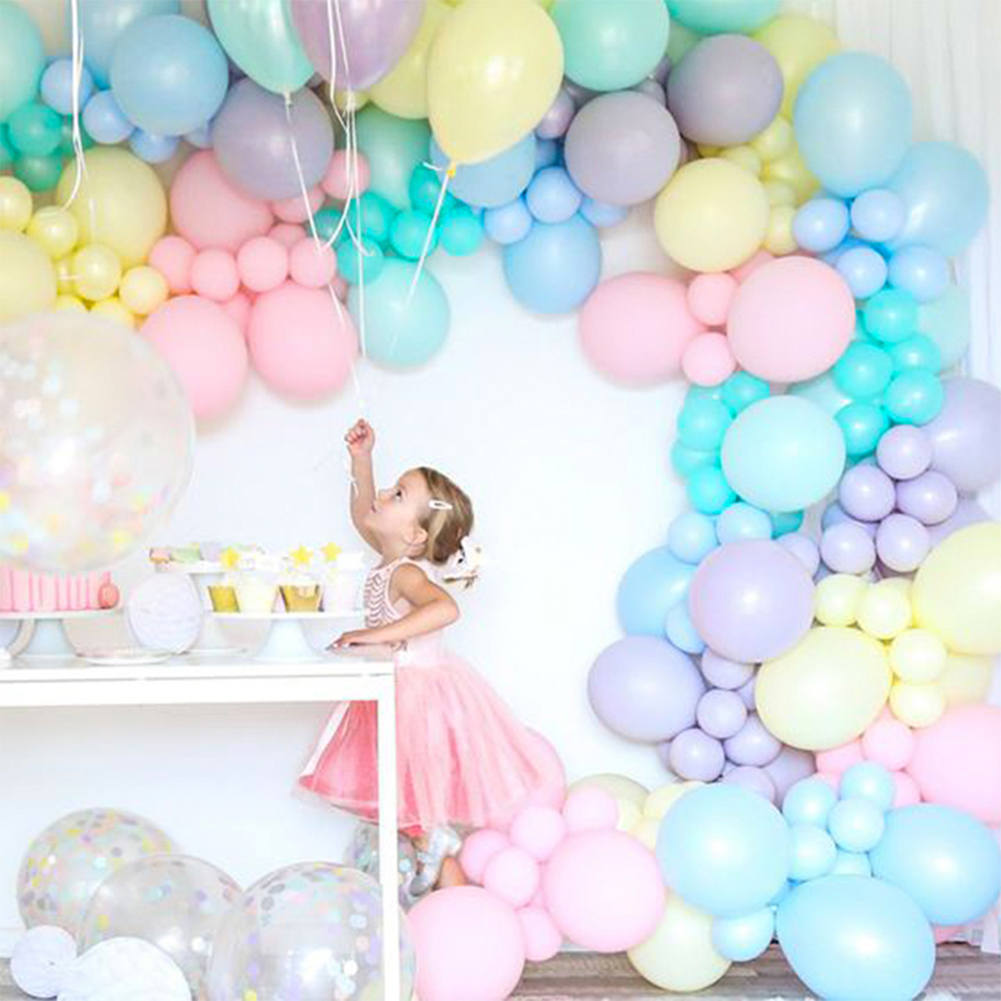 "10Pcs Pastel Latex Balloon 10/"" Macaron Candy Color Latex Party Wedding Ballons"