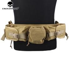 emersongear Sniper Waist Bag Khaki Hunting Shoot Bags Airsoft Tactical Accessory EM5750C
