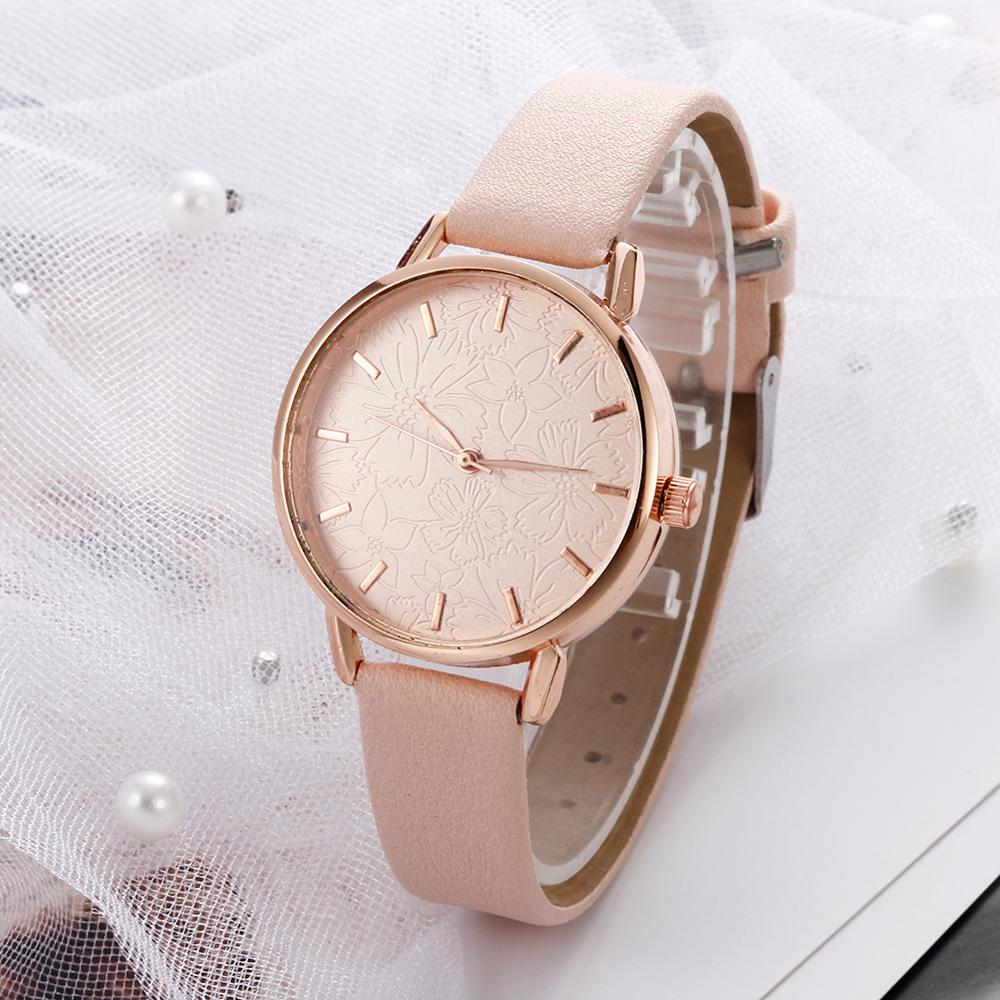 2020 New Casual Quartz Watches For Women Stylish Luxury White Bracelet Watches Ladies Dress Creative Clock Watches Relojes Mujer