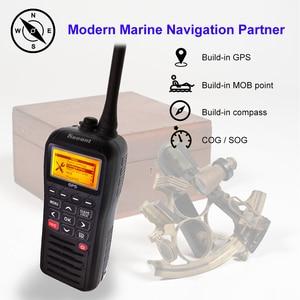 Image 2 - Recente RS 38M Vhf Radio Ingebouwde Gps 156.025 163.275 Mhz Float Transceiver Tri Horloge IP67 Waterdicht walkie Talkie