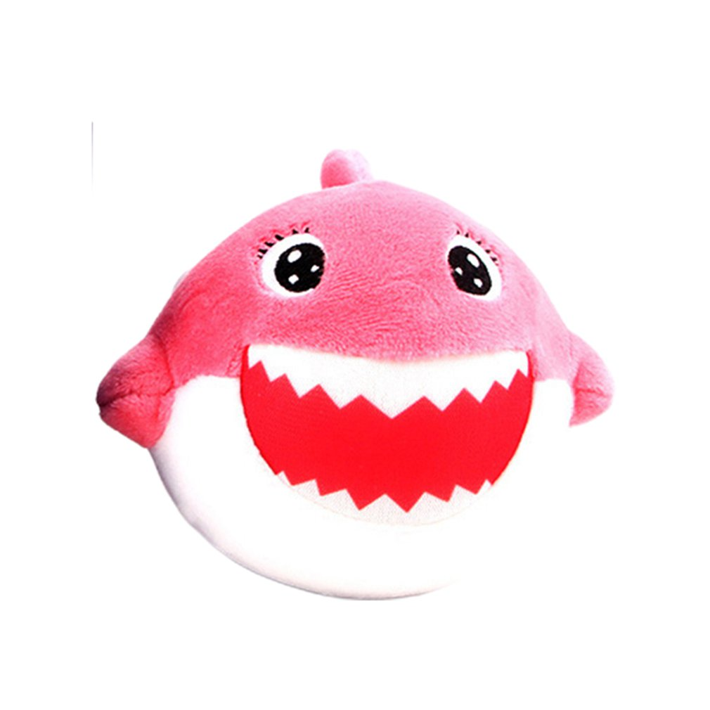 Cute Simulated Cartoon PU Shark Doll Slow Rebound Decompression Toy Foam Relaxed Toy Decoration Cake Sample Model