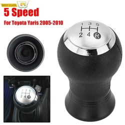 For Toyota Yaris 2005-2010 Arius 2007-2008 Gear Shift Knob Shifter Lever Head Handball 5 Speed Manual Car Styling Accessories