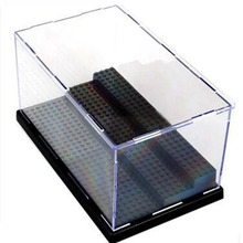 LELE 79150 Figures Deluxe Acrylic Collectible Item Building Blocks Display Mini Box Case Bricks