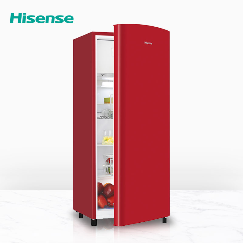 Hisense Refrigerator RR220D4A colorful A + + Energy saving 4-star Wine shelf Adjustable legs