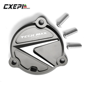 Image 4 - For YAMAHA TMAX 560 Tmax Tech Max 2019 2020 Motorcycle Accessories Swing Arm Cover logo TMAX Tech Max