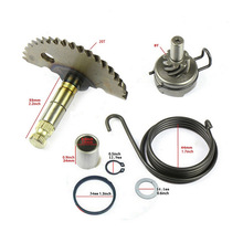 Gear-Set Motorcycle-Accessories Scooter 80cc Kick-Start-Shaft 139Q 48cc Tioodre for Engine-Steel-Material