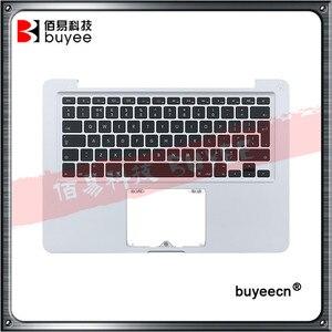 Teclado Original A1278 PalmRest topcase US UK con retroiluminación para Macbook Pro de 13