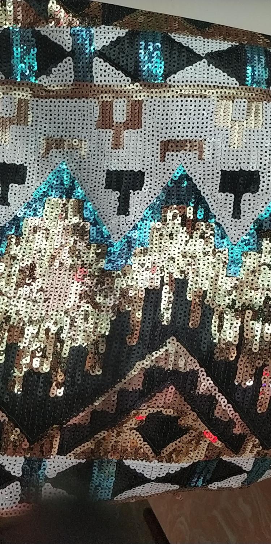 Gorący sprzedawanie ZH 2258 afryki cekiny koronki tkaniny francuski nigerii tkanina z cekinami w Koronka od Dom i ogród na  Grupa 1